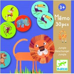 Mémo Jungle 30 pièces