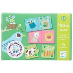 Puzzle Duo, Habitat