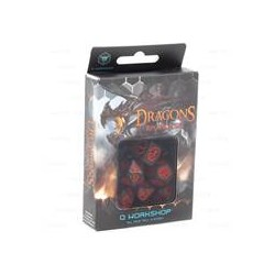 Set de 7 Dés JDR Dragons...
