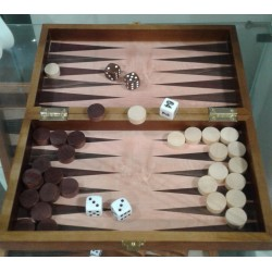 Backgammon en bois -...