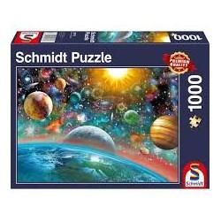 Puzzle 1000 pièces - Espace