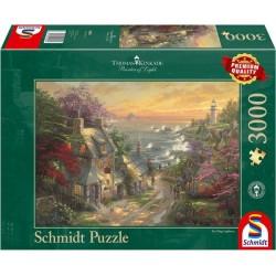 Puzzle 3000 pièces - Hameau...