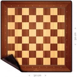 Tapis en néoprène d'échecs...