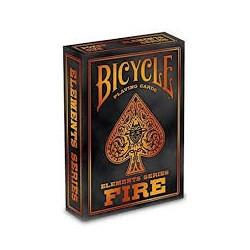 Jeu de 54 cartes Bicycle, Fire