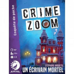 Crime Zoom, un écrivain mortel