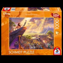 Puzzle 1000 pièces - Le roi...