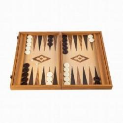 Backgammon en Noyer de 30 cm