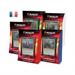 Lot des 5 Decks Commander...